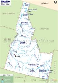 United States Map With Rivers Lakes And Mountains by Idaho Rivers Map Rivers In Idaho