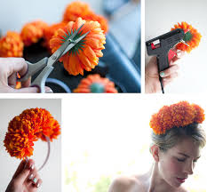 headband flowers hair accessory diy floral headband hair