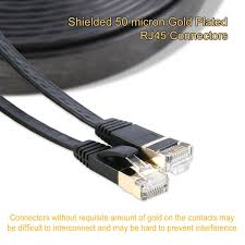 amazon com ethernet cable cat 7 shielded stp lan network cable