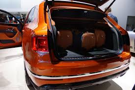 orange bentley bentayga frankfurt 2015 bentley bentayga first impressions u2013 benautobahn