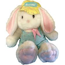 stuffed bunny easter hallmark crayola crayon bunny 1989 1990 limited edition
