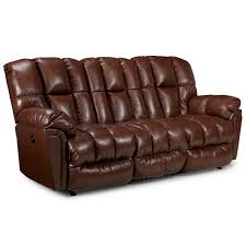 Best Leather Recliner Sofa Reviews Sofas Reclining Lucas Coll Best Home Furnishings