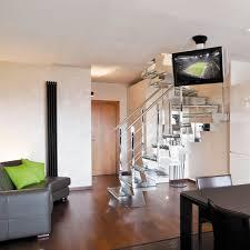 tv a soffitto support tv de plafond contemporain télécommandé motorisé pour