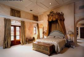 creating master bedroom ideas with canopy curtains home interior