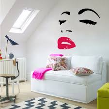 popular lips wallpaper buy cheap lips wallpaper lots from china audrey hepburn sexy red lips living room bedroom wall decals waterproof and removable beauty art wallpaper