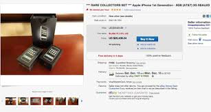 Ebay Used Kitchen Cabinets For Sale The 1st Gen Iphone 2g Is Now Going For 12 500 On Ebay
