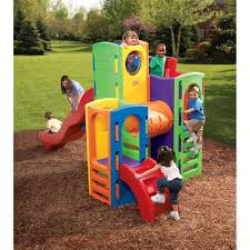 Little Tikes Anchors Away Pirate Ship Water Table Climbing Towers Playground Bundle Little Tikes