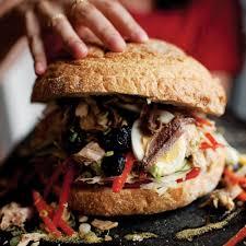 provençal tuna sandwich pan bagnat recipe saveur
