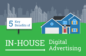 Inhouse 5 Key Benefits Of In House Digital Advertising Infographic