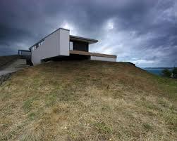 Modern Hill House Designs Hillside Walkout House Plans Houzz