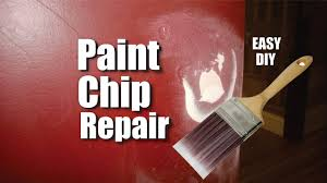 How To Get Paint Off Walls by How To Easily Repair Paint Chips And Peeling Damage To Drywall Or