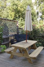 How Do I Build A Wooden Picnic Table by Picnic Tables They U0027re Not Just For Rich People Anymore