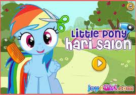 design hair game little pony hair game