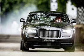 roll royce black rolls royce brought its black badge models to goodwood this year