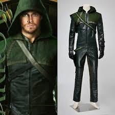 Green Arrow Halloween Costume Green Arrow Oliver Queen Cosplay Costume Halloween Party Clothing