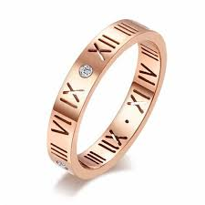 numeral ring wholesale hot sell 2017 top fashion 925 silver rings stainless