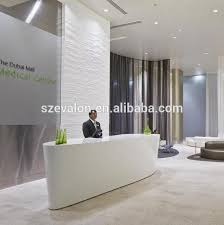 Reception Desk With Display Reception Desk Display Modern Clinic Reception Desk Solid