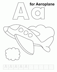 airplane images kids coloring