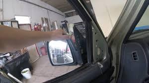 car door mirror glass suzuki jimny πως αλλαζω καθρεφτη how to replace a car door mirror