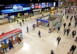 the uk u0027s largest indoor digital signage screen was turned on at