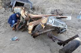 jeep buried in sand dune finally dug out after 40 years new york