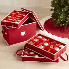 ornament storage box with dividers pier 1 imports