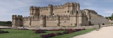 historical castles great castles of europe castle of coca