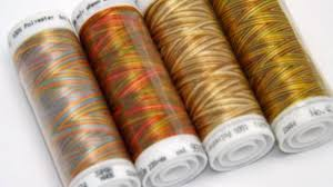 brown threads variegated thread embroidery thread thread