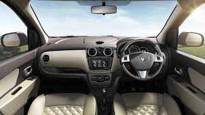 renault kwid interior seat renault lodgy stepway launched in india at rs 60 000 premium