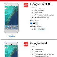 verizon wireless black friday verizon leaks google pixel and pixel xl confirms blue model
