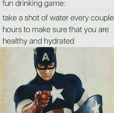 Meme Drinking Game - dopl3r com memes fun drinking game take a shot of water every