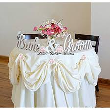 Bride and Groom Table Decorations Amazon