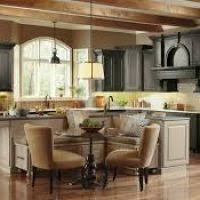 corner kitchen island corner kitchen designs with island hungrylikekevin