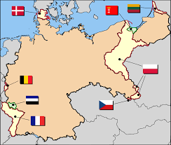 Cold War Germany Map by Germany