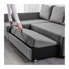 friheten sleeper sectional dark grey and storage