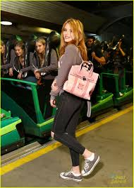 Six Flags October Bella Thorne Celebrates 18th Birthday With Six Flags Private Tour