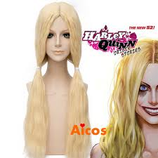 wigs at halloween city long pale blonde wavy heat resistant synthetic hair cosplay wig