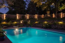 Pool Landscape Lighting Ideas Pool Lighting Part One Safety