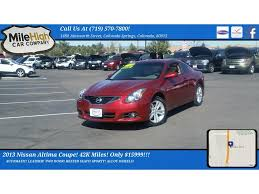 nissan altima for sale under 7000 nissan altima coupe in colorado springs co for sale used cars