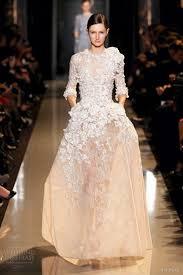 elie saab spring summer 2013 couture dresses wedding inspirasi