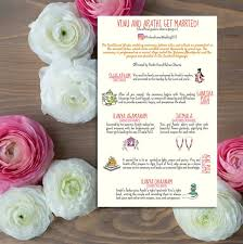 indian wedding programs 100 indian wedding program cards infographic style creative