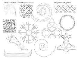 viking carvings symbols u0026 thematic design phillipshakesbymasters