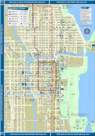 Chicago Downtown Map by Map Chicago Downtown Cta Map Gsb92 Reunion U0027s Blog