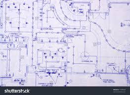 100 blueprint house blueprint for a house electrical stock