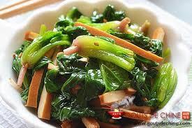 cuisiner tofu fumé epinard au tofu fumé recette chinoise