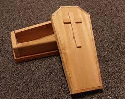 wooden coffin wooden coffin etsy