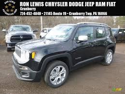 jeep renegade black 2017 black jeep renegade limited 4x4 117365796 gtcarlot com