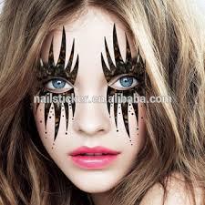 custom clown temporary rhinestone makeup tattoos day