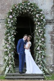 wedding arches names millie mackintosh and professor green s floral arch photo