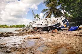 before striking u s hurricane matthew scarred bahamas caribbean